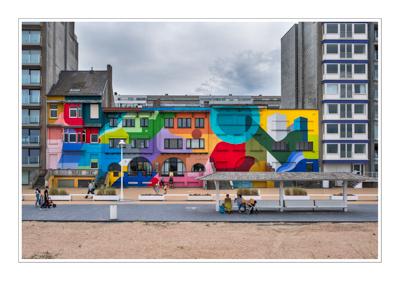 Graffiti in Nieuwpoort-Bad