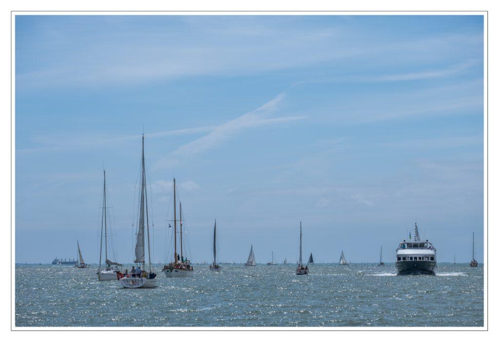 Overtocht van La Rochelle naar Île de Ré